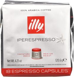 illy caffe capsule