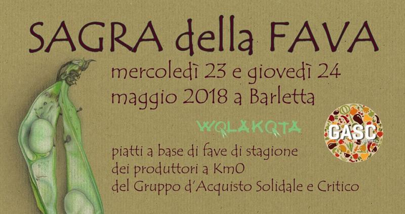 La Sagra Della Fava A Barletta   Barletta