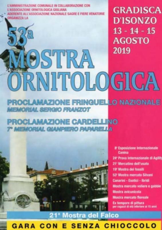 Mostra Ornitologica a Gradisca D'isonzo | 2019 | (GO) Friuli