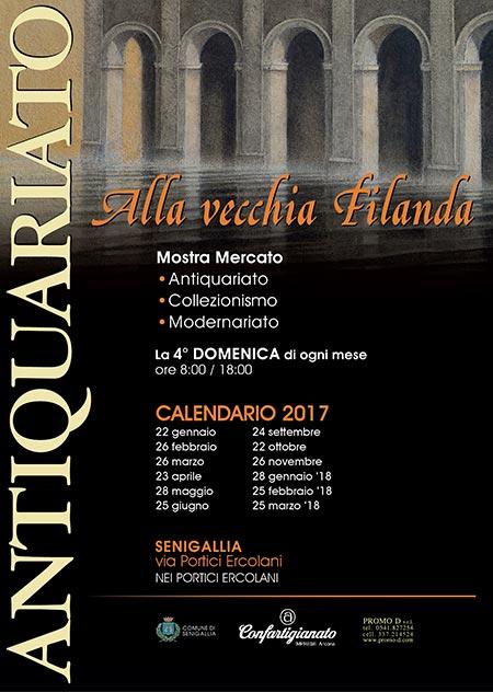 Mercato antiquariato senigallia 2017 an marche for Calendario mercatini antiquariato