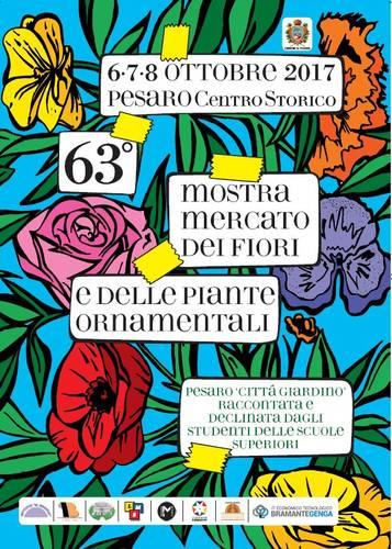 Mostra mercato dei fiori e delle piante ornamentali pesaro for Mostre mercato fiori 2017