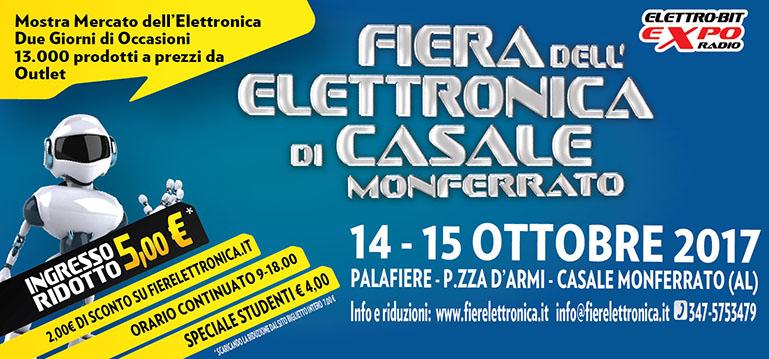 Fiera dell 39 elettronica casale monferrato al 2017 for Fiera elettronica 2017