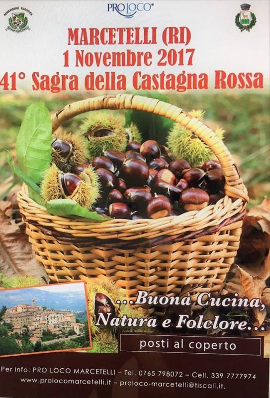 Sagra Della Castagna Rossa a Marcetelli (RI) 2017 | Lazio ...