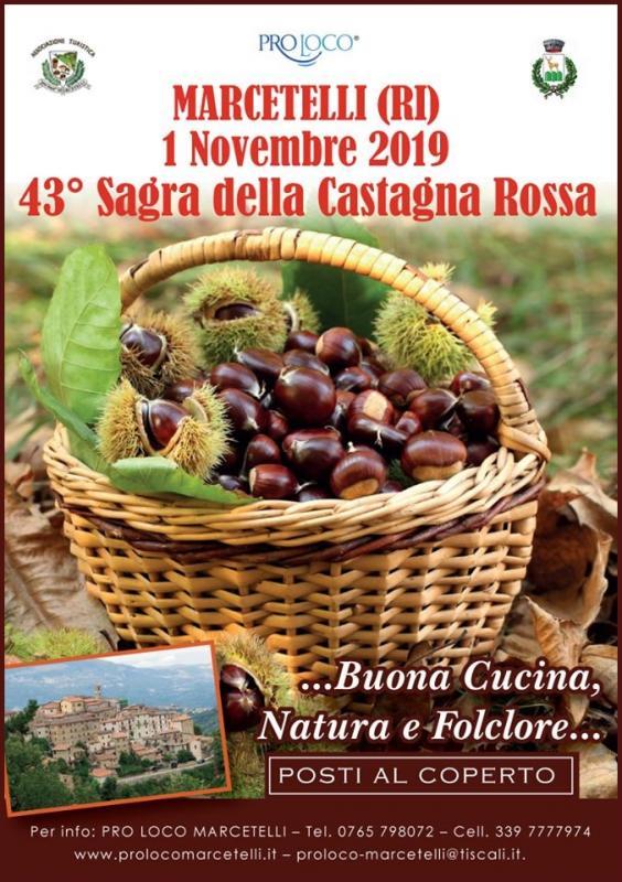 Sagra Della Castagna Rossa a Marcetelli | 2019 | (RI ...
