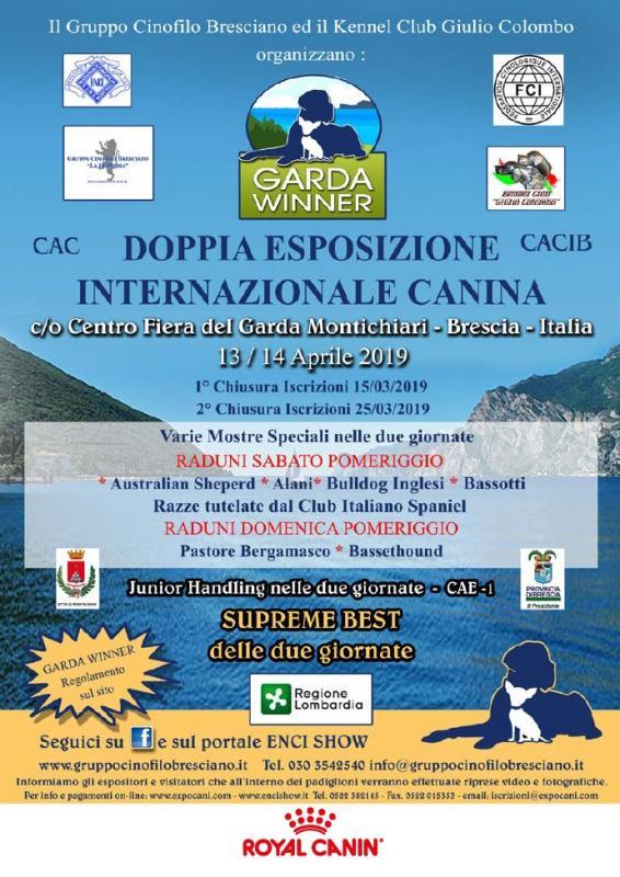Calendario Fiera Montichiari.Esposizione Internazionale Canina A Montichiari 2019 Bs
