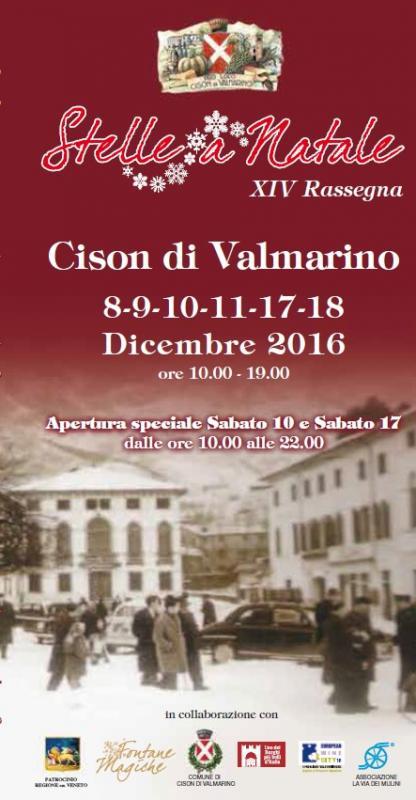 Stelle di natale cison di valmarino tv 2016 veneto su for Stelle di natale ail 2016