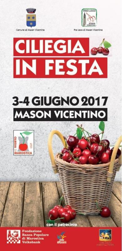 Mostre mercato delle ciliegie mason vicentino vi 2017 for Mostre mercato fiori 2017