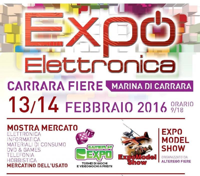 Expoelettronica carrara ms 2016 toscana eventi e sagre for Fiere alimentari 2016