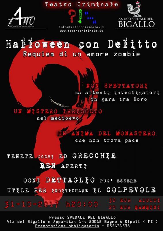 Halloween Con Delitto A Bagno A Ripoli Date 2017 Fi