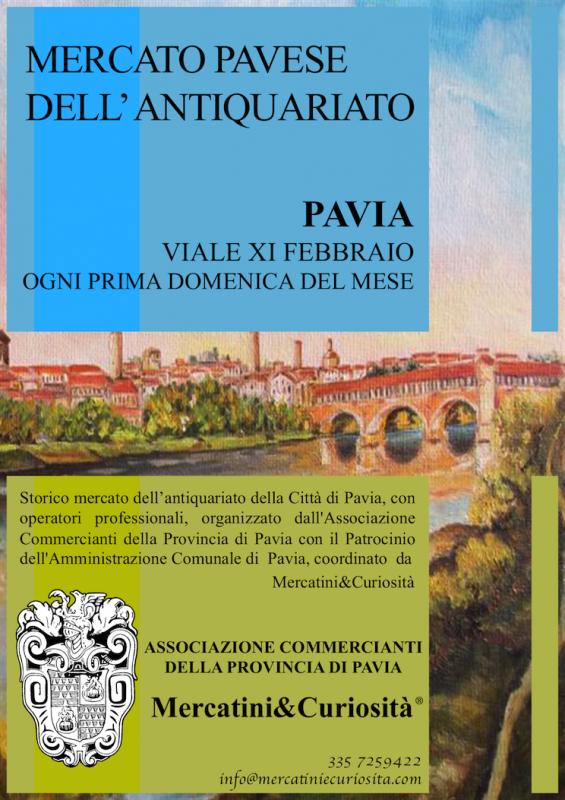 Mercatino Pavese Dellu0027antiquariato   Pavia