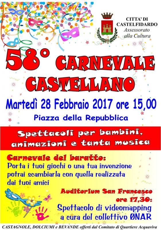 Carnevale castellano castelfidardo an 2017 marche for Eventi marche 2017