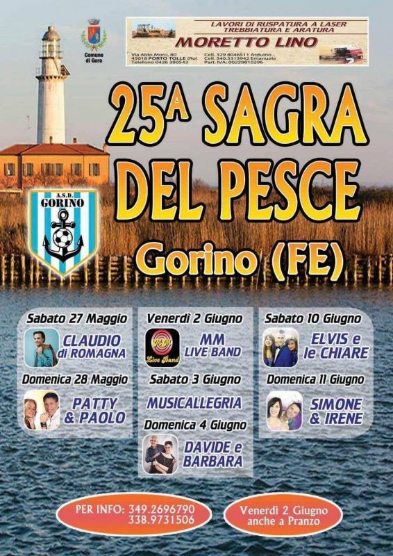 Sagra del pesce goro fe 2017 emilia romagna eventi e for Sagre emilia romagna 2017