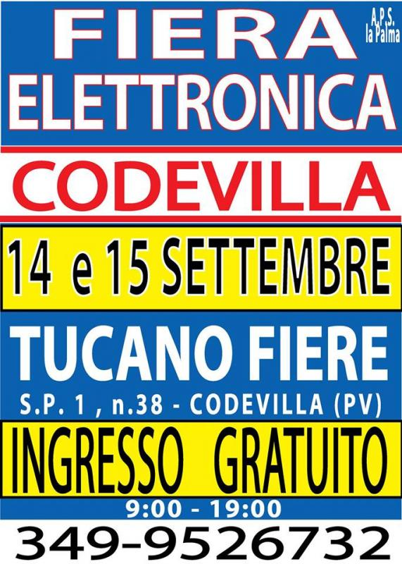 Calendario Fiere Elettronica 2020.La Fiera Dell Elettronica A Codevilla A Codevilla 2019
