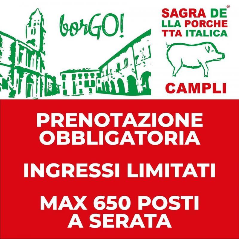 Sagra Della Porchetta Italica a Campli | 2020 | (TE ...