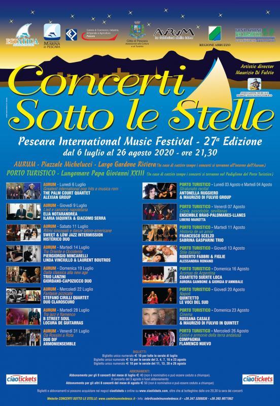 Concerti Sotto Le Stelle a Pescara | 2020 | (PE) Abruzzo ...