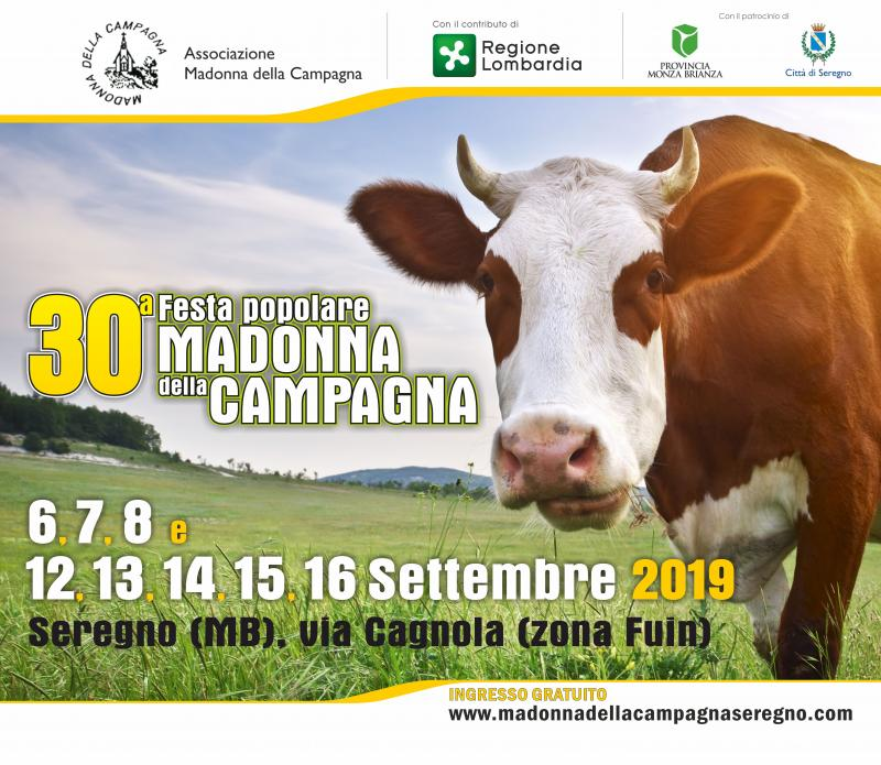 I Rodigini Calendario.Festa Popolare Madonna Della Campagna A Seregno 2019 Mb