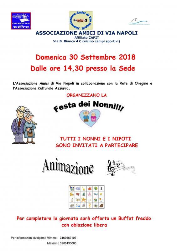 Calendario Festa Dei Nonni.Festa Dei Nonni A Genova 2018 Ge Liguria Eventi E Sagre