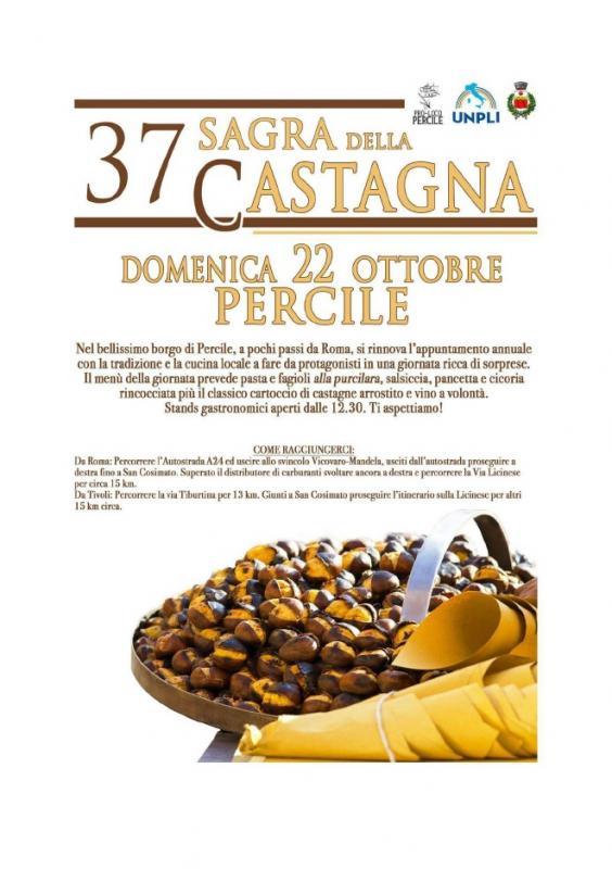 Sagra della Castagna Percile (RM) 2017 | Lazio | eventi e ...
