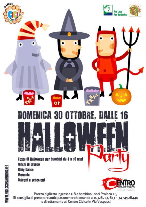 Halloween Per Bambini.Festa Di Halloween Per Bambini A Barberino Di Mugello 2016 Fi