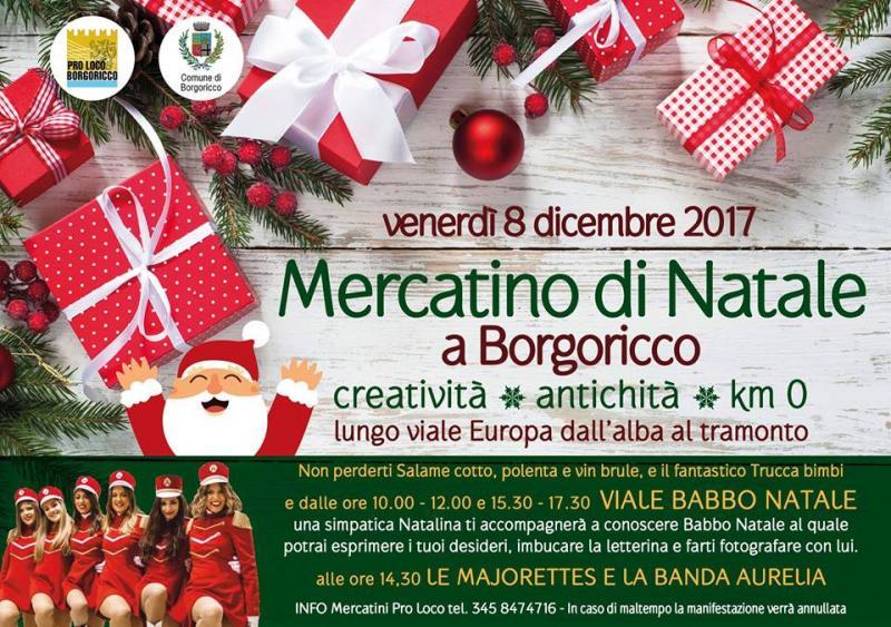 Mercatini di natale a borgoricco pd 2017 veneto for Mercatini veneto oggi