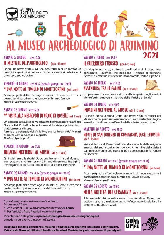 Eventi Al Museo Archeologico Di Artimino