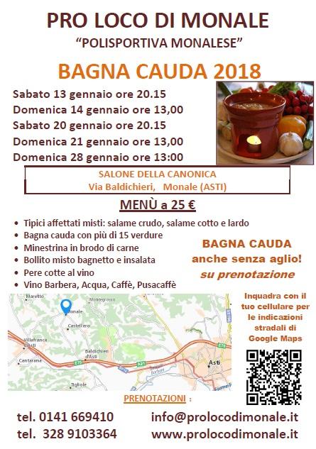 Bagna Cauda di Monale Monale (AT) 2018 | Piemonte | eventi e sagre