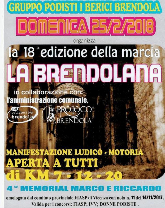 Calendario Marce Fiasp Vicenza 2019.La Brendolana A Brendola 2018 Vi Veneto Eventi E Sagre
