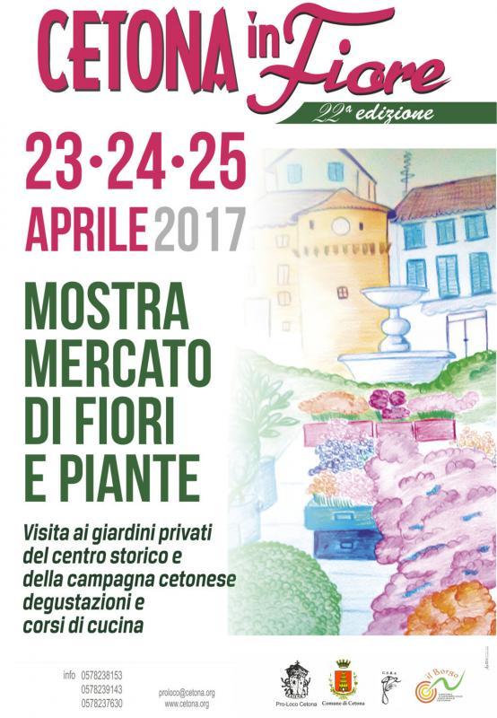 Cetona in fiore cetona si 2017 toscana eventi e sagre for Mostre mercato fiori 2017
