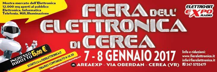 Fiere elettronica fiera dell 39 elettronica cerea vr 07 01 for Fiera elettronica 2017