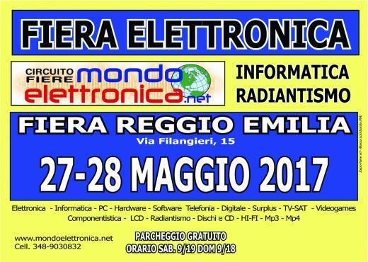 Fiera mercato elettronica reggio emilia re 2017 emilia for Fiera elettronica 2017