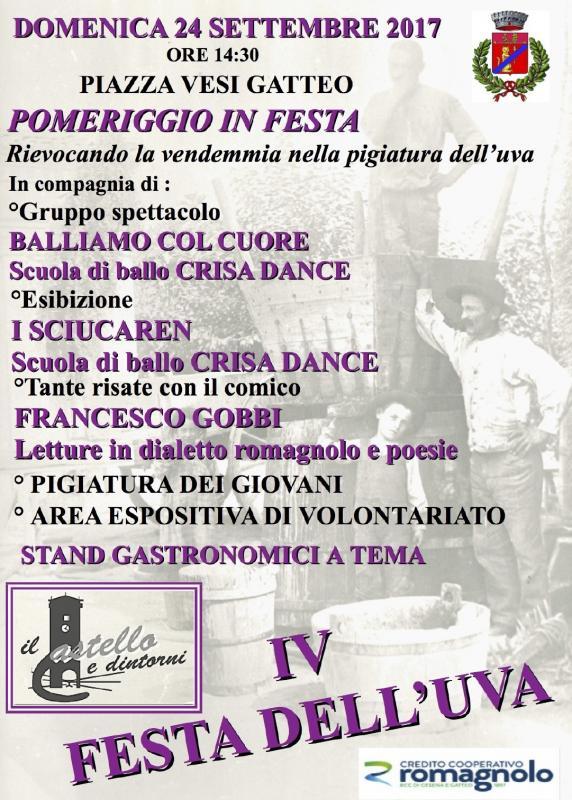 Festa dell 39 uva a gatteo 2017 fc emilia romagna for Sagre emilia romagna 2017