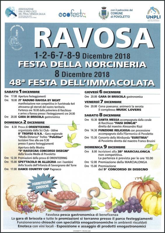 Festa della madonna immacolata a povoletto 2018 ud for Eventi oggi fvg