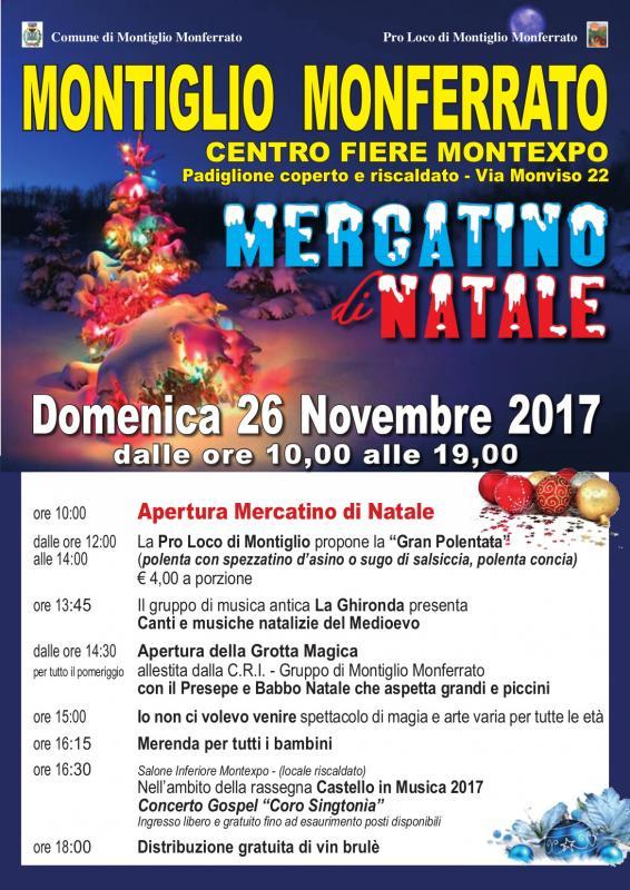 Mercatino di natale a montiglio monferrato at 2017 for Mercatini torino e provincia