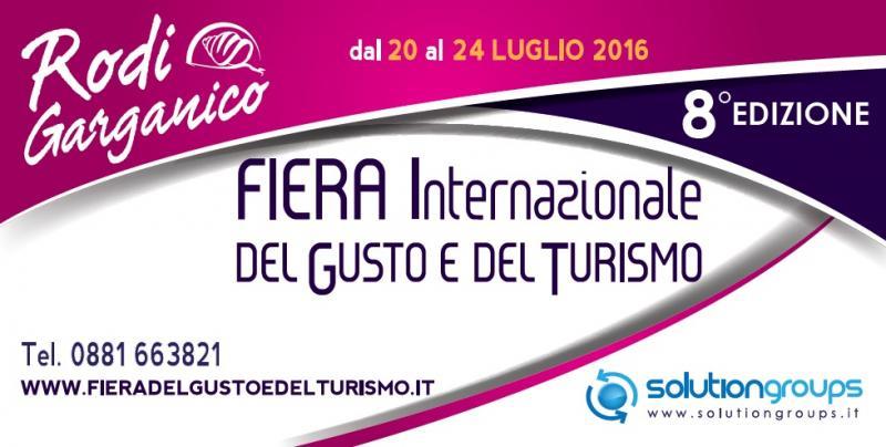 Fiera del gusto a rodi garganico fg 2016 puglia for Fiere alimentari 2016