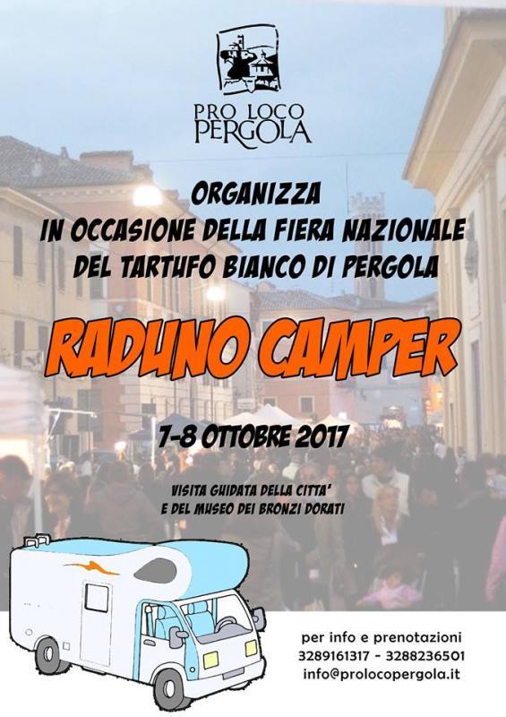 Raduno camper a pergola pergola pu 2017 marche for Eventi marche 2017