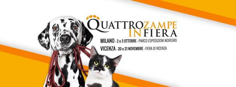 Milano - Quattrozampeinfiera a Segrate   2021   (MI) Lombardia    eventiesagre.it