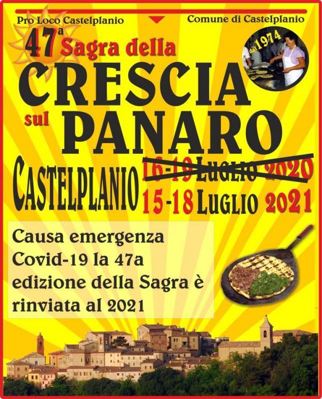 Sagra Della Crescia Sul Panaro a Castelplanio a Castelplanio