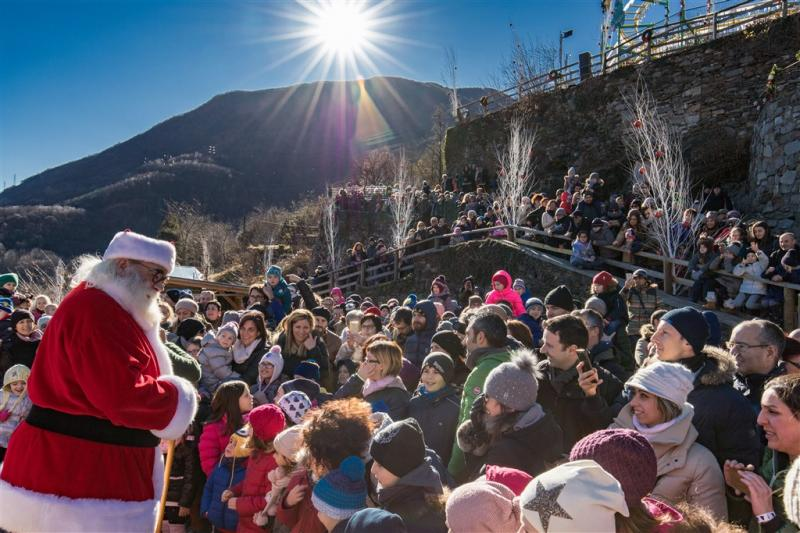 La Grotta Di Babbo Natale.Grotta Di Babbo Natale A Ornavasso 2018 Vb Piemonte Eventi E