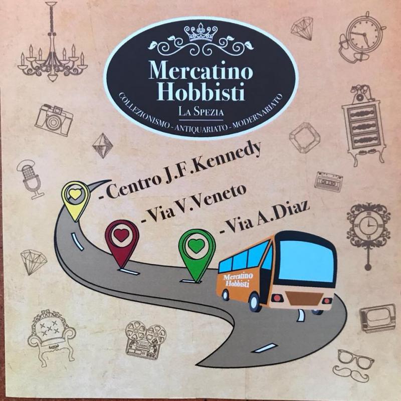 Mercatino di hobbisti la spezia sp 2018 liguria for Mercatini veneto oggi
