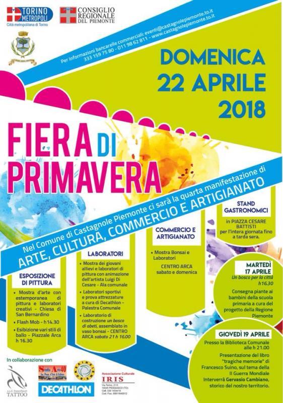 Fiera di primavera castagnole piemonte to 2018 for Fiere piemonte oggi