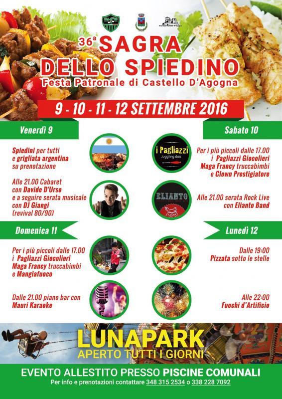 Sagra Dello Spiedino Castello D Agogna Pv 2016