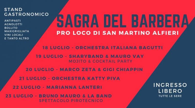 Orchestra Italiana Bagutti Calendario Serate 2019.Sagra Del Barbera A San Martino Alfieri 2019 At