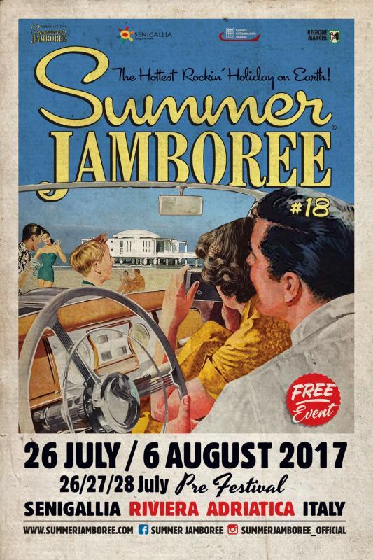 Summer jamboree senigallia an 2017 marche eventi e sagre for Eventi marche 2017