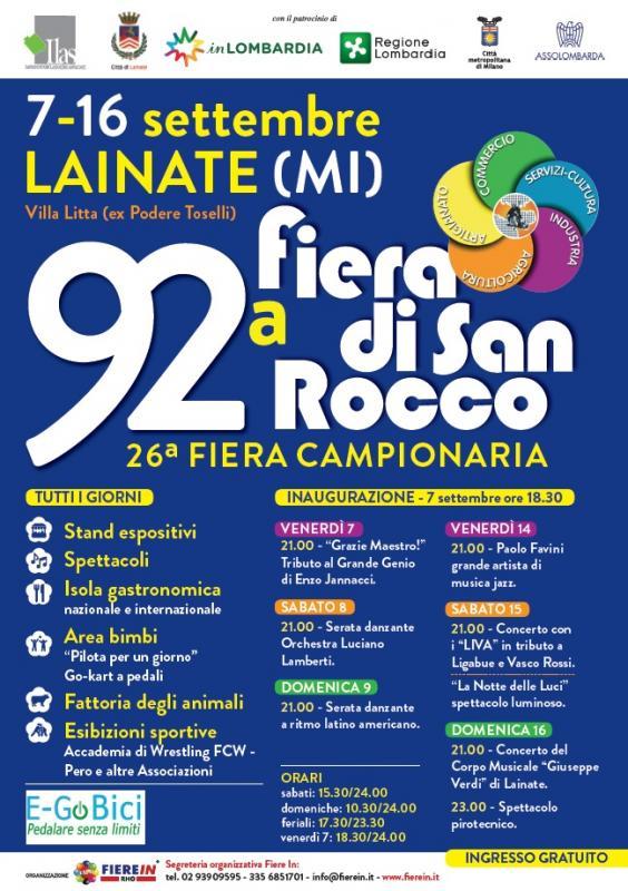 46ca02454b2d Fiera Di San Rocco a Lainate