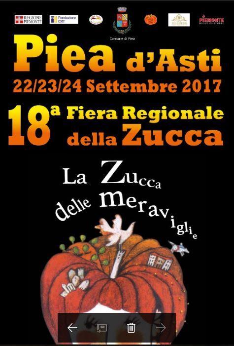 Fiera della zucca piea at 2017 piemonte eventi e sagre for Fiere piemonte oggi