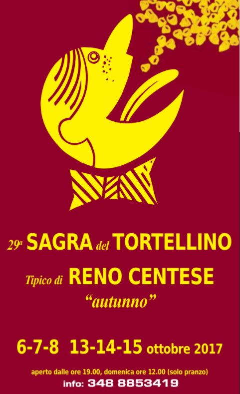 Sagra del tortellino d 39 autunno a cento fe 2017 emilia for Sagre emilia romagna 2017