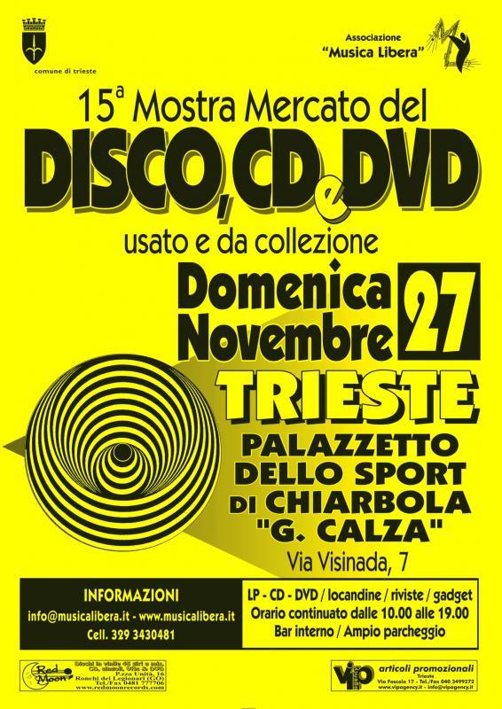 Mostra mercato del disco cd dvd usato e da collezione for Mercato del mobile usato milano