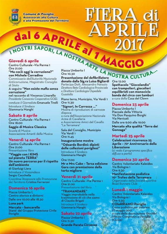 Fiera di primavera a poviglio re 2017 emilia romagna for Sagre emilia romagna 2017