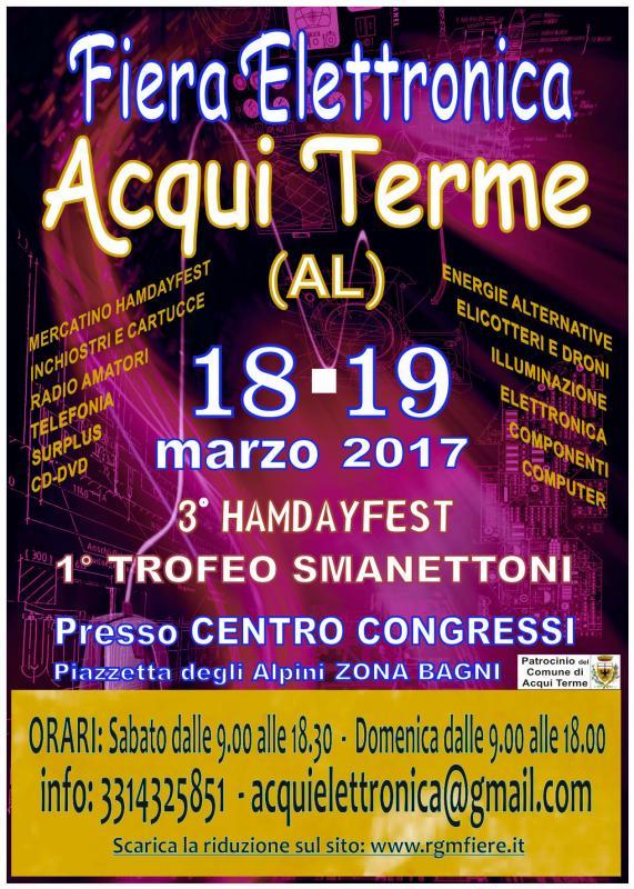 Fiera dell 39 elettronica acqui terme 2017 al piemonte for Fiera elettronica 2017