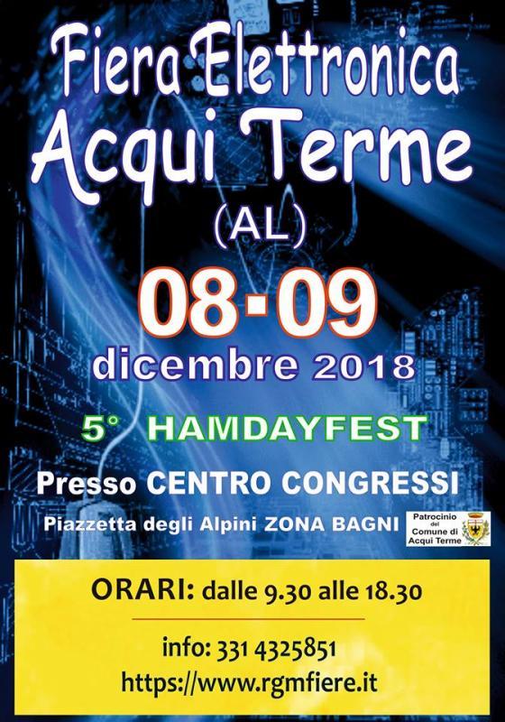 Fiera Dellelettronica Calendario 2020.Fiera Dell Elettronica A Acqui Terme 2018 Al Piemonte